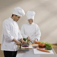 Chefs Preparing Veggies