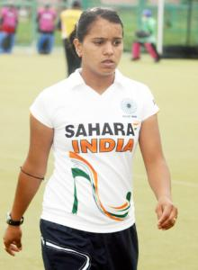 Indian women's hockey team captain Saba Anjum